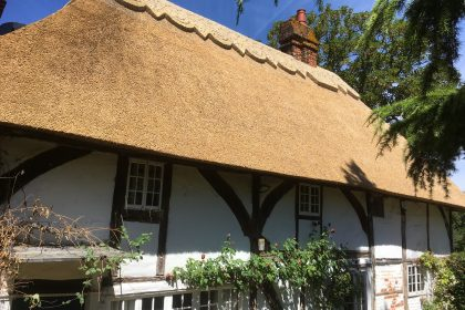 Cottage Re-Thatch - Sittingbourne, Kent