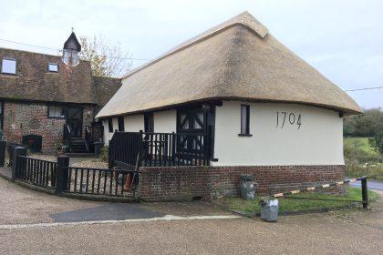 Re-Thatch Barn Conversion - Nonington, Canterbury