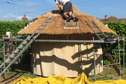 Full-Thatch Roof Conversion - Chartham near Canterbury