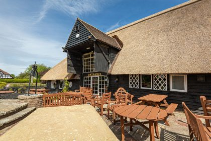 Chestfield Barn - Full re-thatch